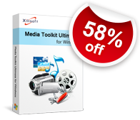 58% off for Xilisoft Media Toolkit Ultimate