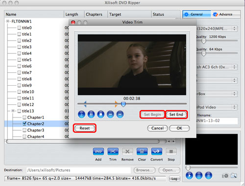 DVD to QuickTime conversion Tips