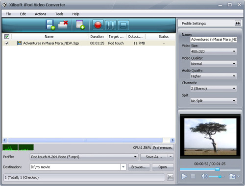 free online video converter to mp4 320x240