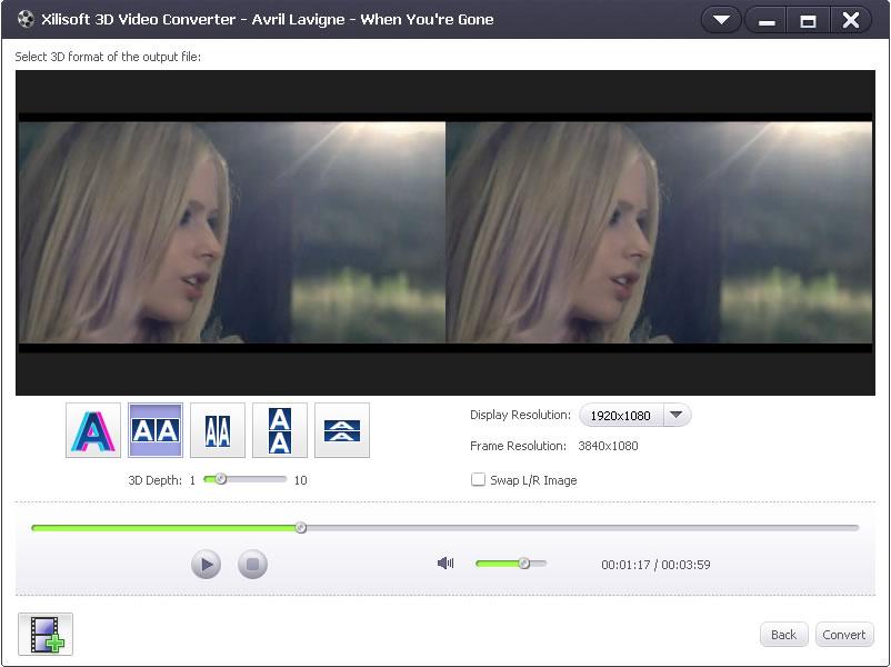 3d video converter