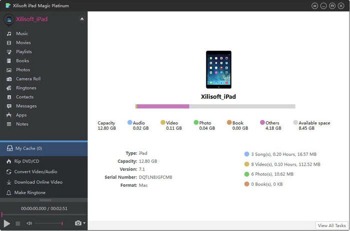 Xilisot iPad Magic Platinum v5.4.7 build 20121217+Key [Multi]